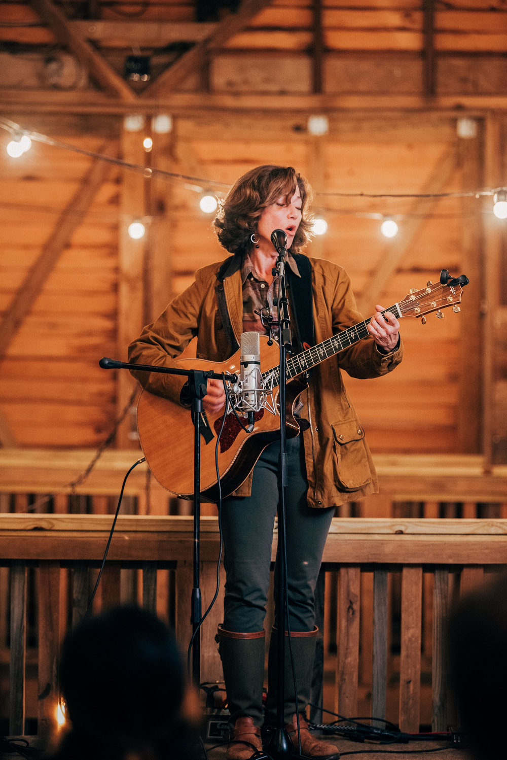 Amy Grant performs during our Nashville Music Therapy Retreat. October, 2018.