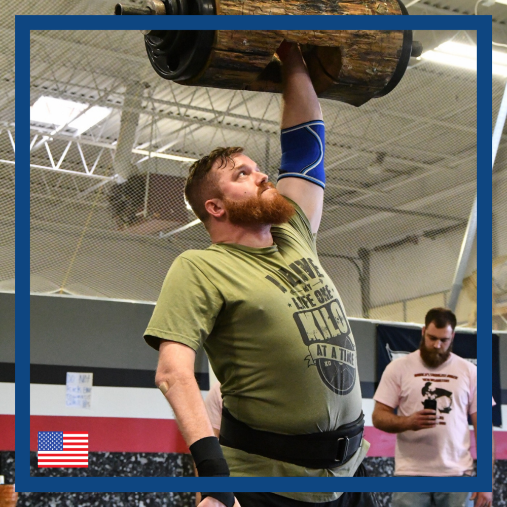 James dreams of doing a two-arm Stone Lift.   Disabled strength sports competitor, James Spurgin, aims to lift an ancient stone from Iceland, despite having no function in his right arm.