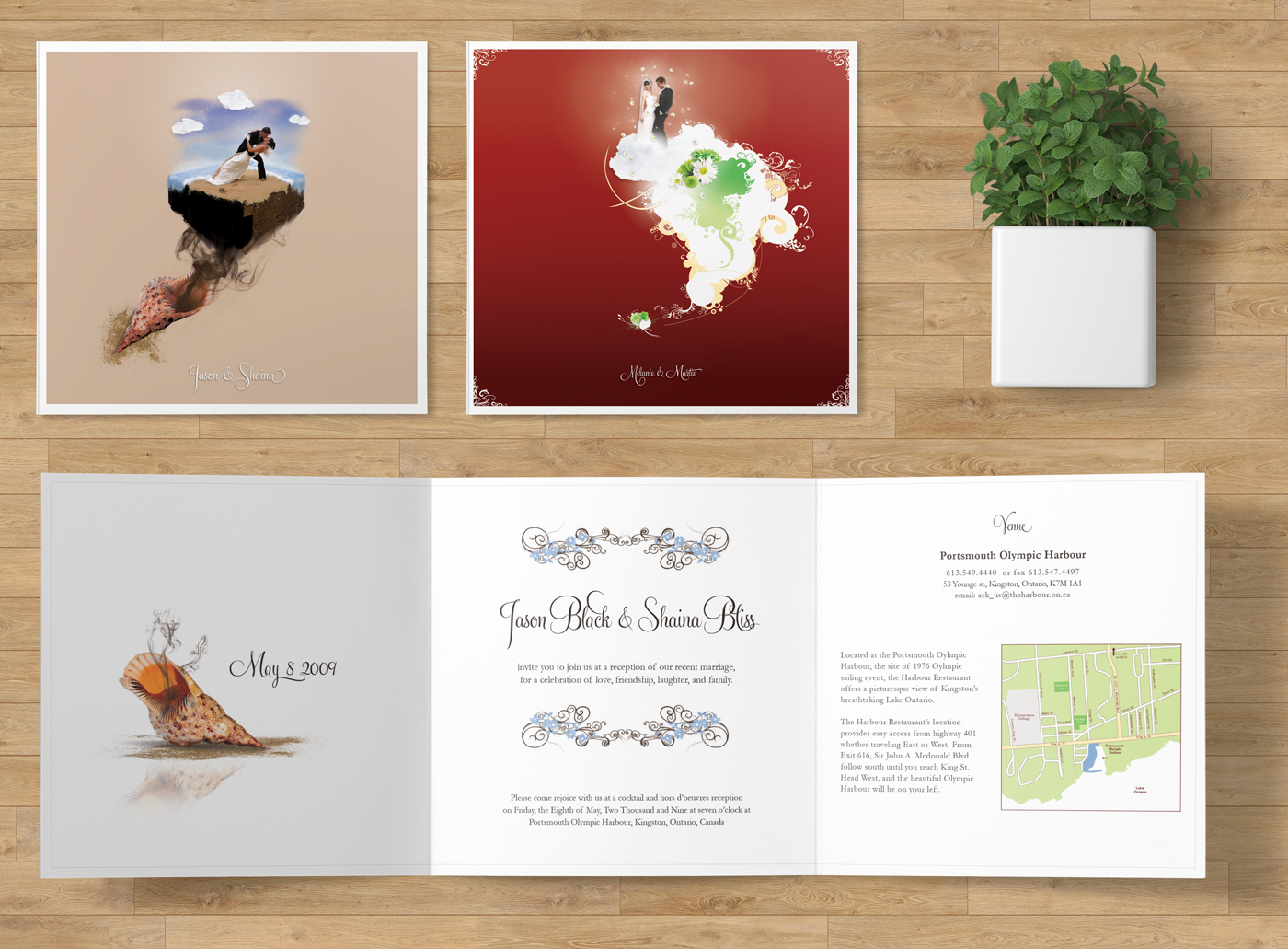 Wedding Invitations — Lindon Design
