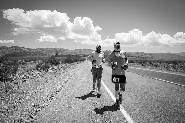 To crew and pace a best friend's running of the Badwater 135-Mile Ultramarathon, considered the world's toughest foot race, was one of the richest and most intense experiences of my life. Attempting to run 135 miles (217 km) from Death Valley to Mount Whitney, in mid-July, enduring record-breaking temperatures (127F, surface temps registered at 158F!) and over 13,000ft (4,000m) of total elevation gain entirely on road was heroic, humbling, stunning, and wildly unforgiving. After covering 100 miles, @yassinediboun decided to drop due to some increasingly serious health issues, but not after giving it every ounce he had to muster. An intense landscape and a sleep-deprived experience quite literally singed into my skin, indelible. Inspiration isn't big enough for what just happened. More images + thoughts forthcoming. @territoryrunco @badwaterhq @beetelite #runnersofthewild