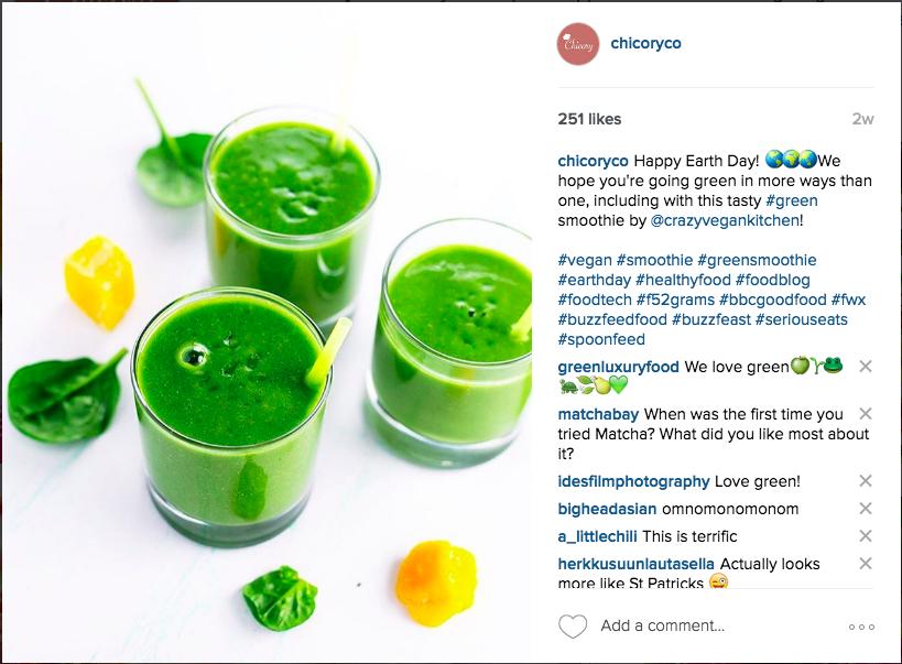 Chicory Instagram