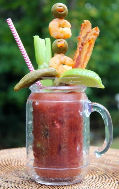 Bloody Marys by Lisa Newsome Entertaining is Easy - Chicory Blog