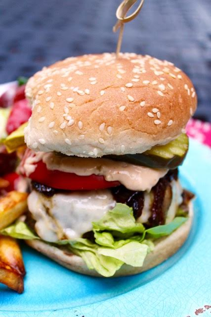 Burgers by Lisa Newsome Entertaining is Easy - Chicory Blog