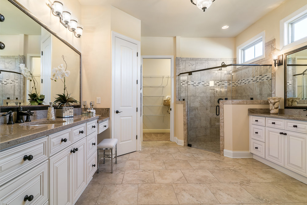 Master Bath with Larger Shower