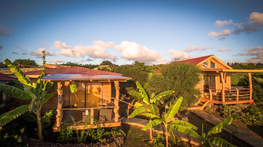alojamiento en isla de pascua - Cabanas - Kona Koa Lodge 1