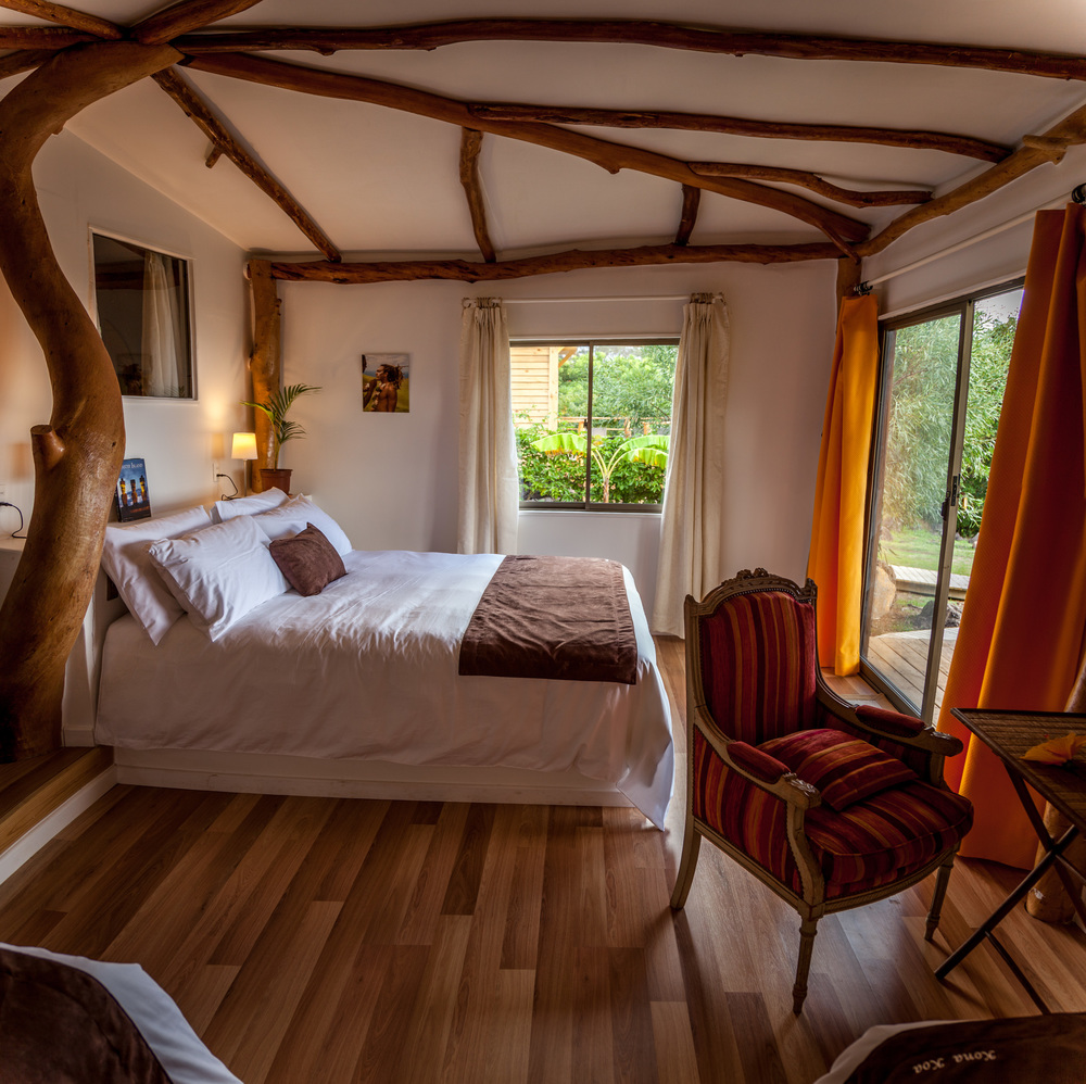 alojamiento en isla de pascua - Cabanas - Kona Koa Lodge 5