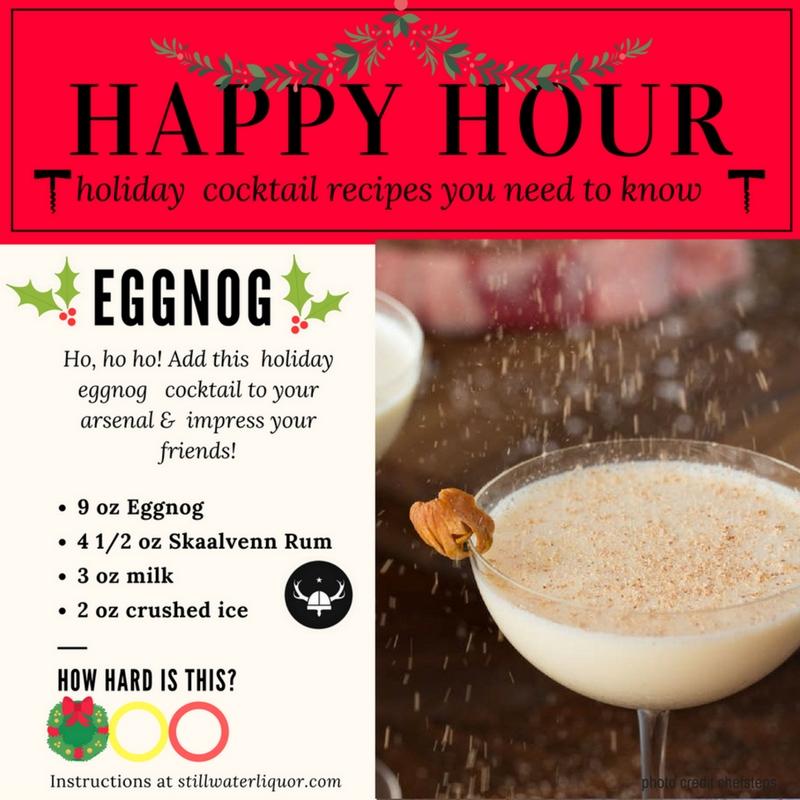 eggnog stillwater liquor