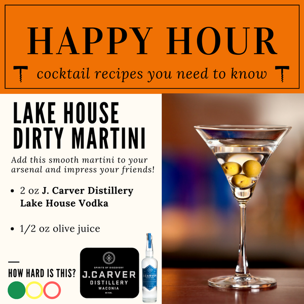 lake house vodka martini