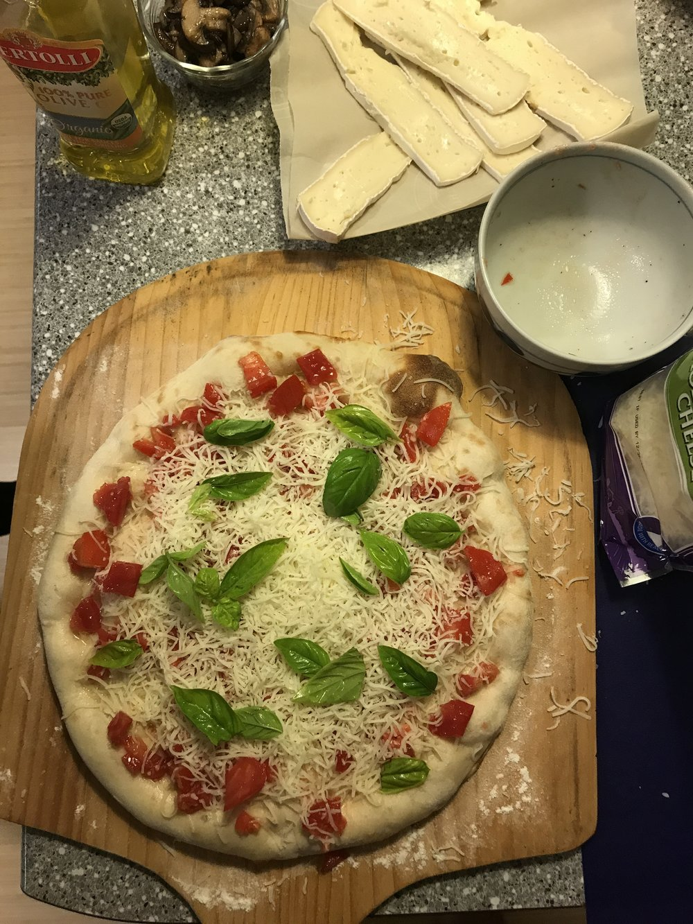 farm to table pizza night