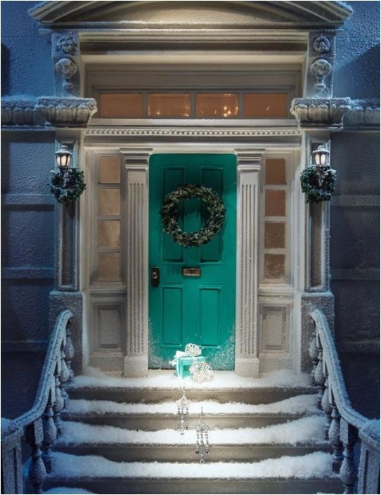 doors-tiffany blue