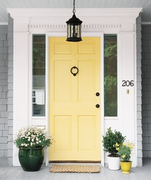 doors- hawthorne yellow