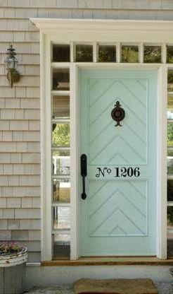 doors- soft aqua