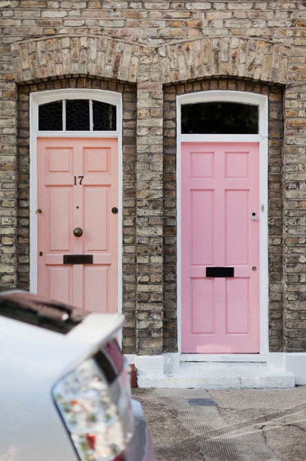 doors- soft pinks | colormoxie color consultant