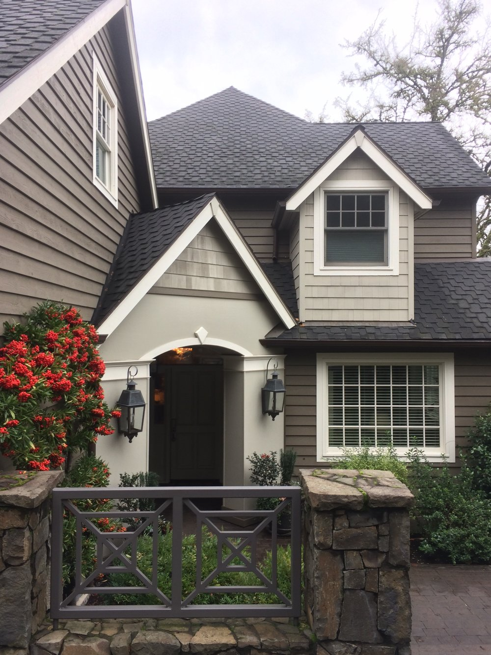 Exterior Paint Color palette |  colormoxie
