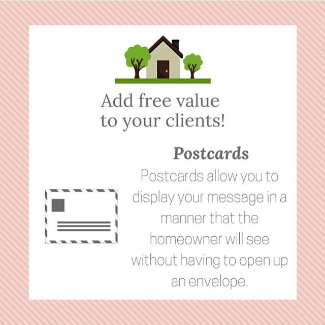 Are you a #realtor or #realestateagent ? 🏠 Add value to your clients by sending unique postcards! ✉️ #marketing #realestate #realestatemarketing #branding #design #postcards #marketingstrategy