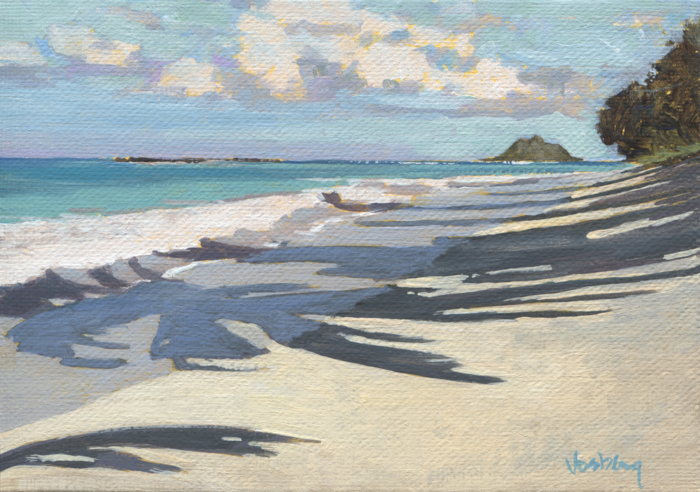 Kailua Beach walk, Oahu