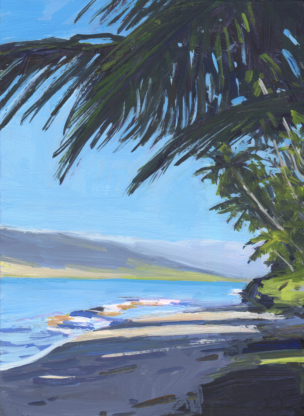 Halama Street Palms, Maui