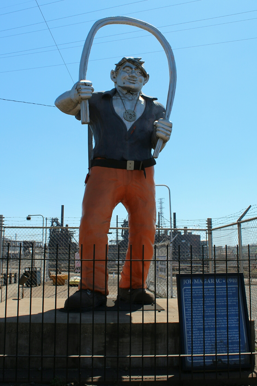Joe Magarac statue