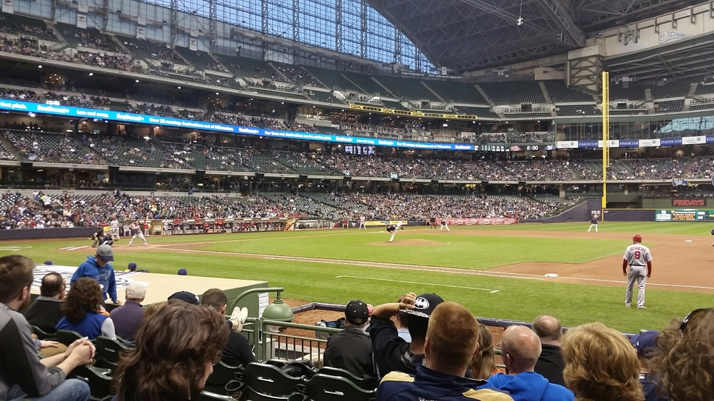 Angels at Brewers