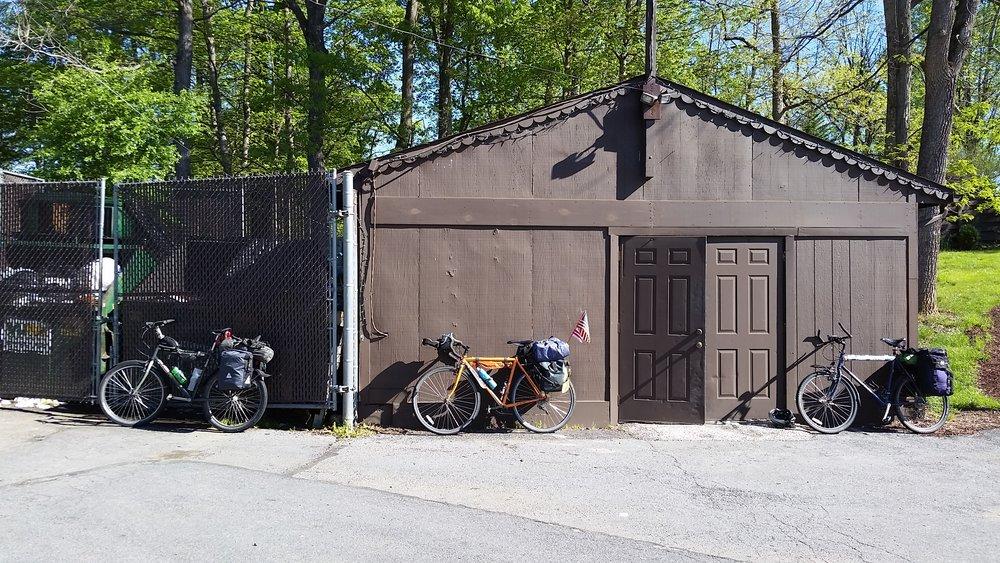 Bikes at the Bavarian Inn