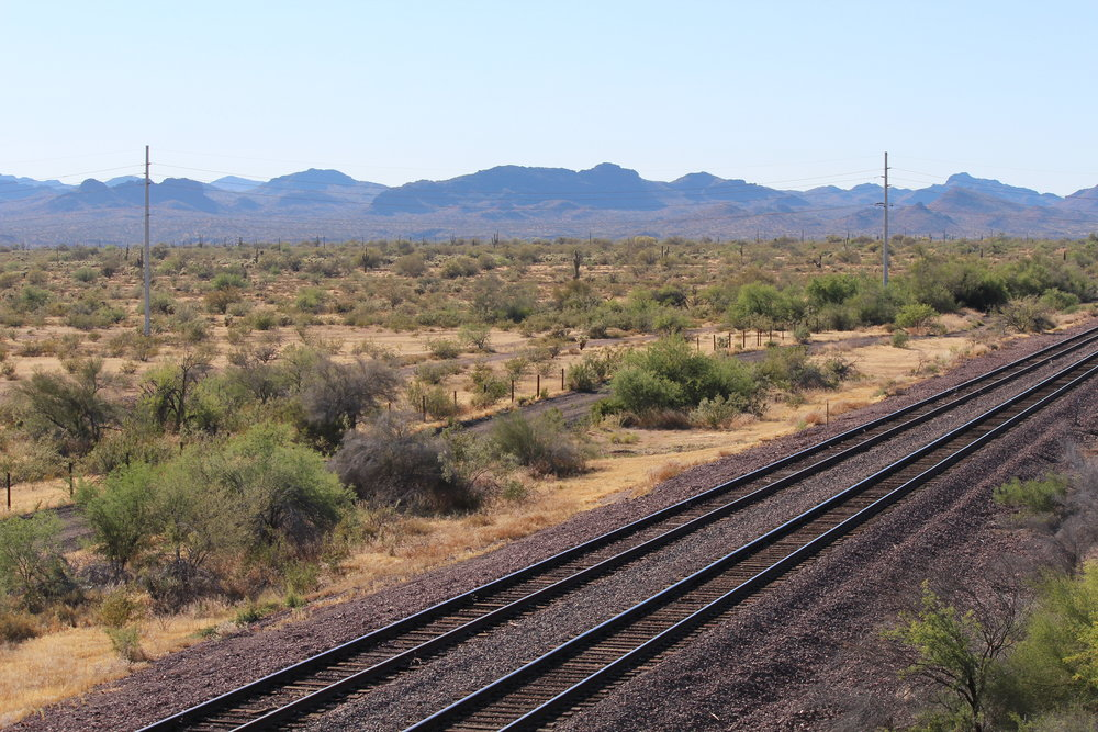 Train Tracks Outside Phoenix