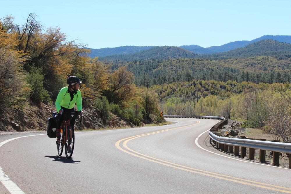 Cycling Prescott National Forest