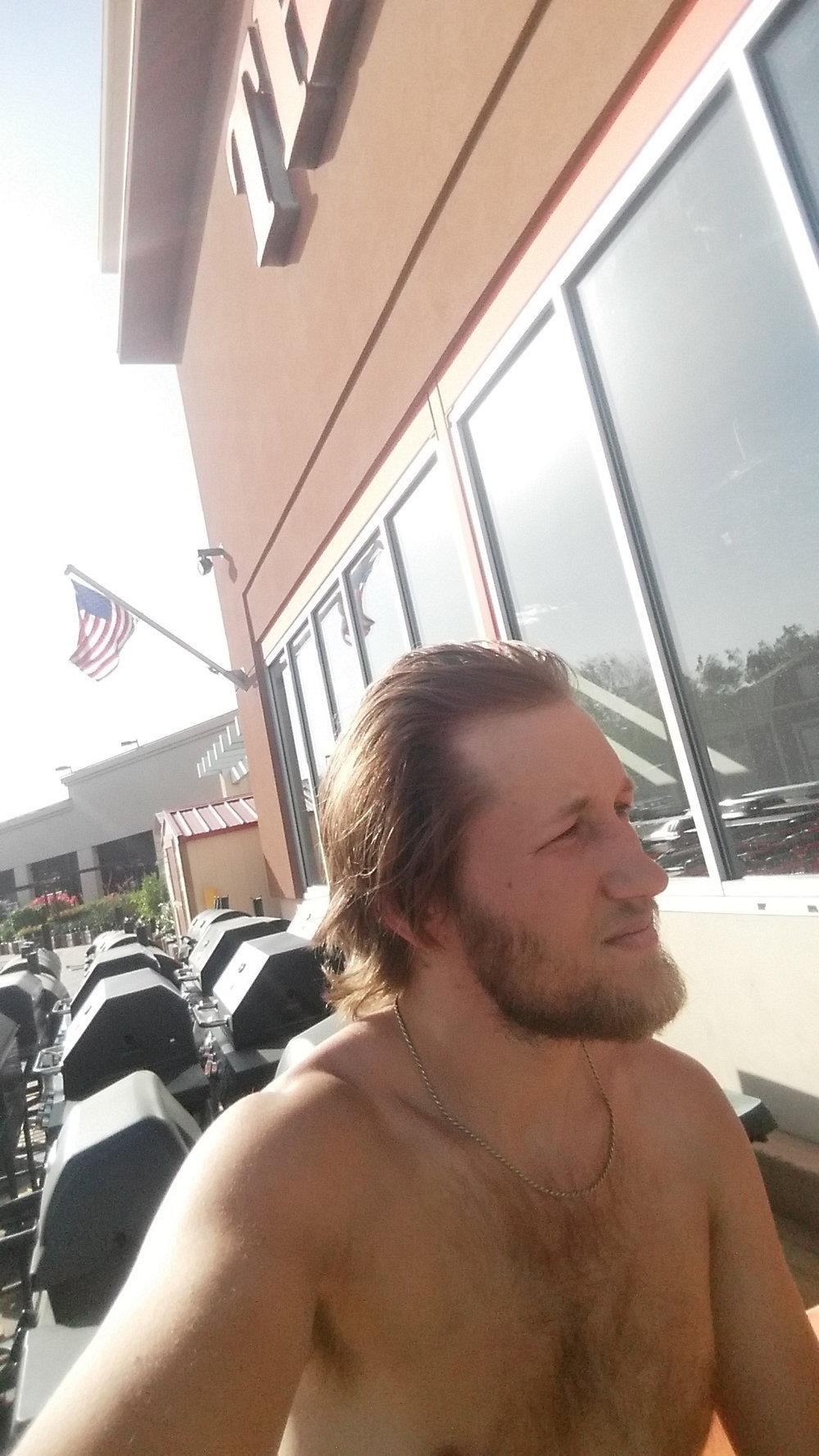 Home Depot Selfie