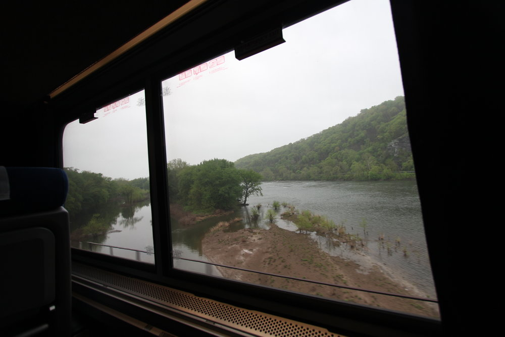 Capitol Limited on the Potomac River