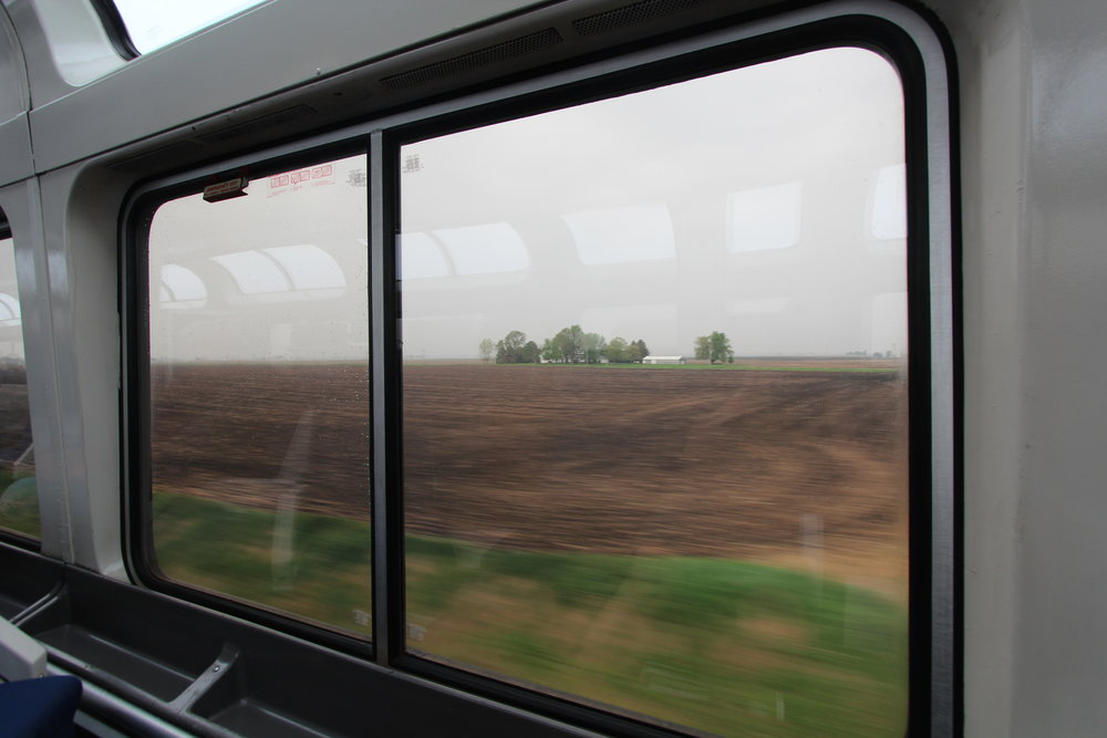 Illinois Plains on Southwest Chief