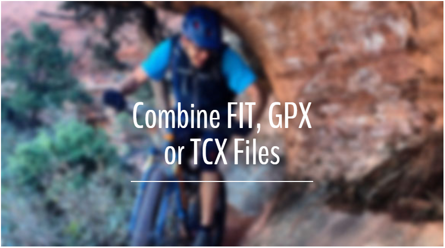 Combines GPX files With GOTOES