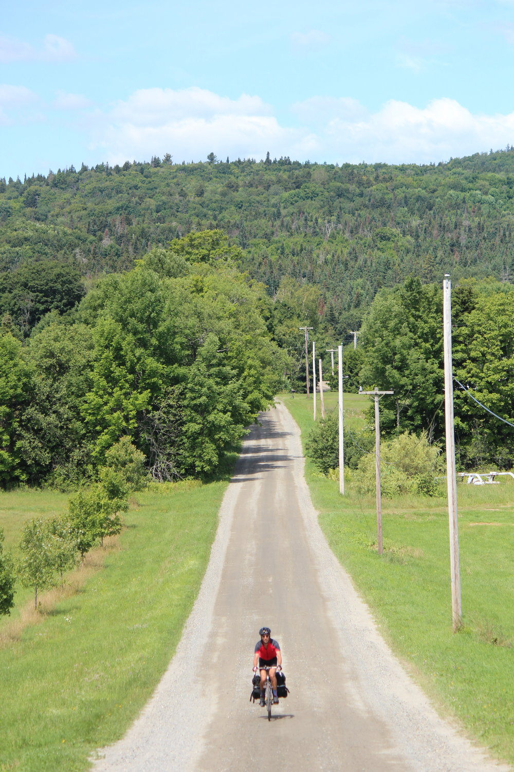 Cycling to Hill Farmstead Brewery