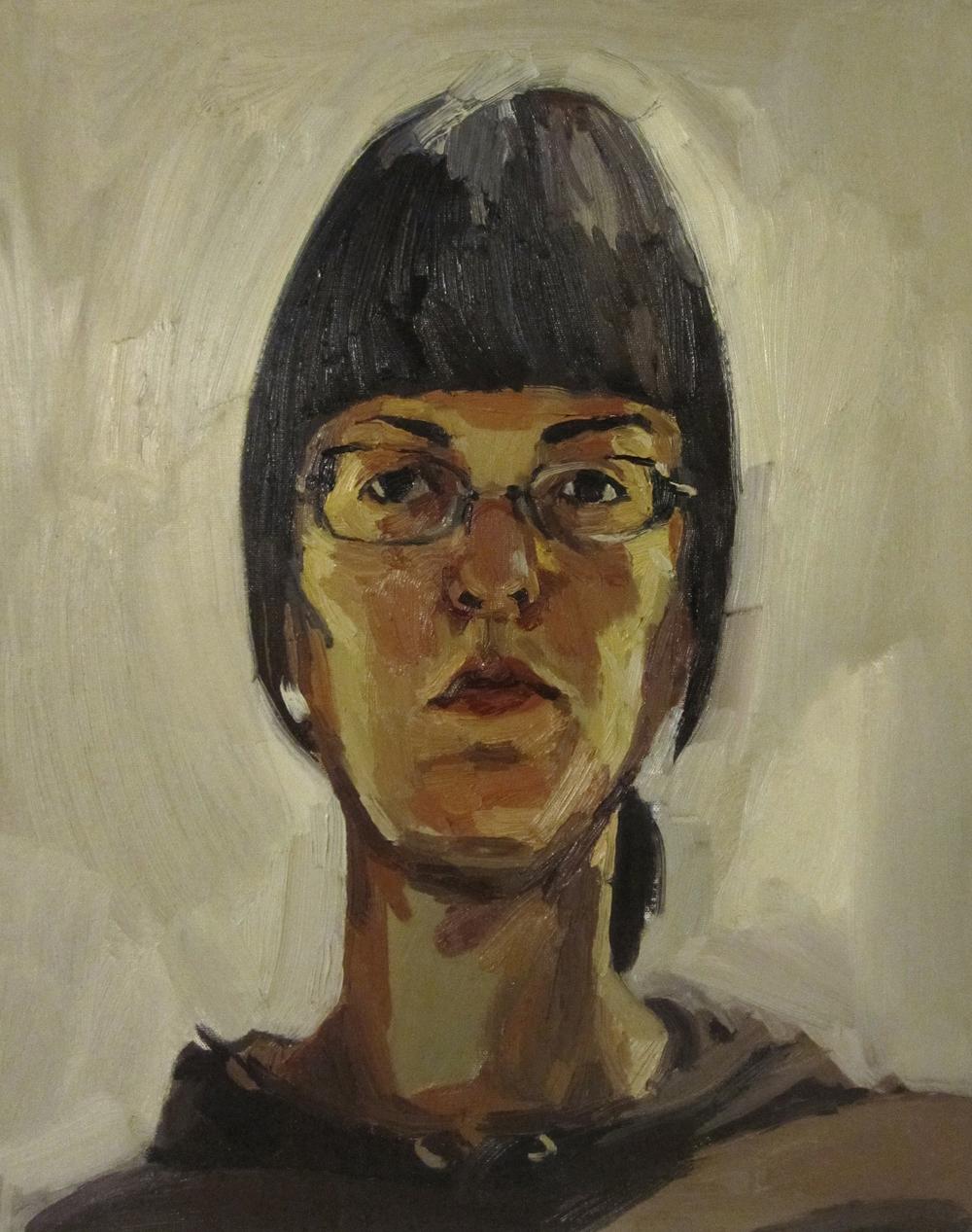 self-portrait (la flaca)