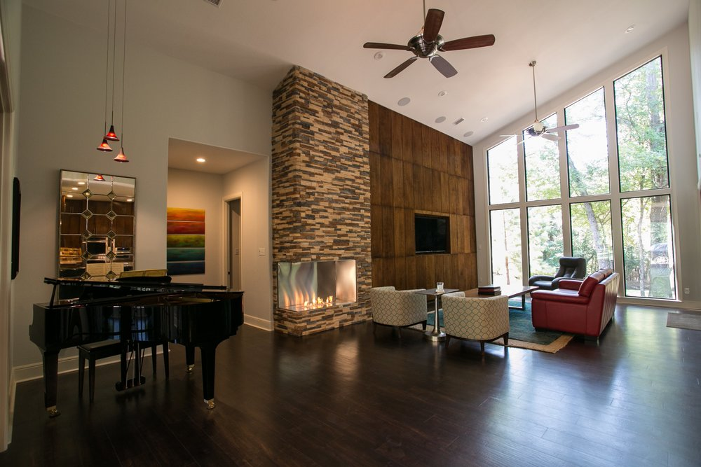 Contemporary Texas Lodge by Ambiance Interior Design