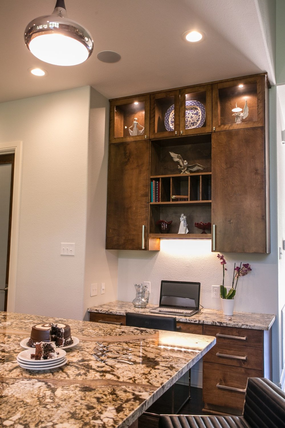 Kitchen with built in storage AND style