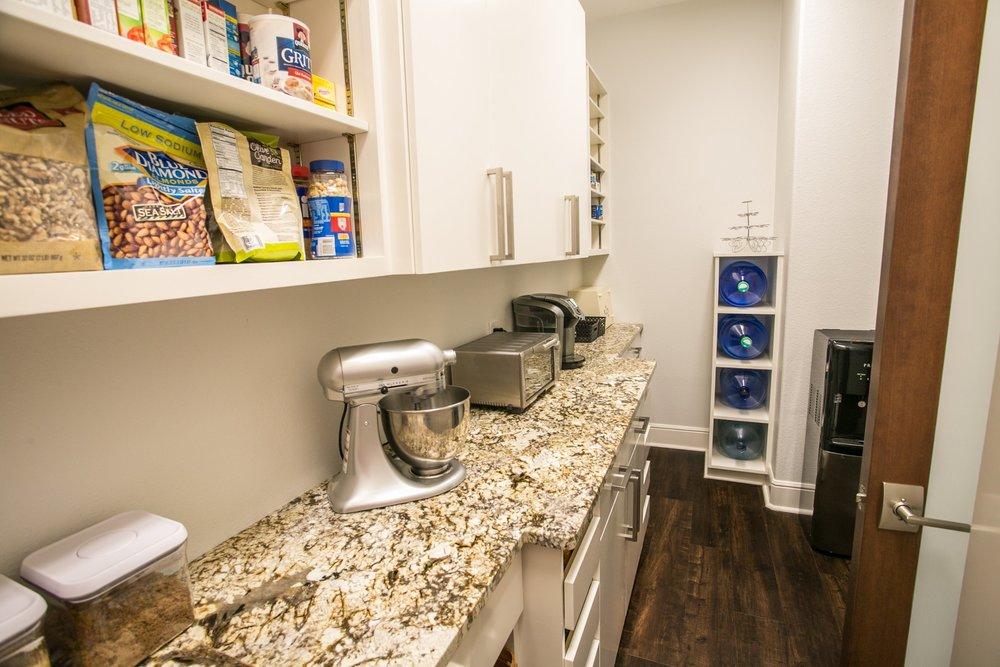 lots of pantry storage space - modern kitchen by Ambiance Interior Designer