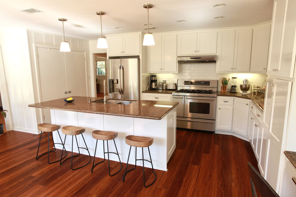 renovation of 1940's kitchen