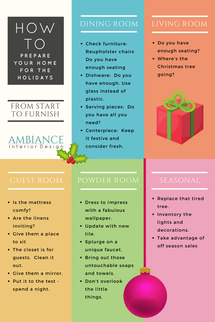 how to prepare for the holidays