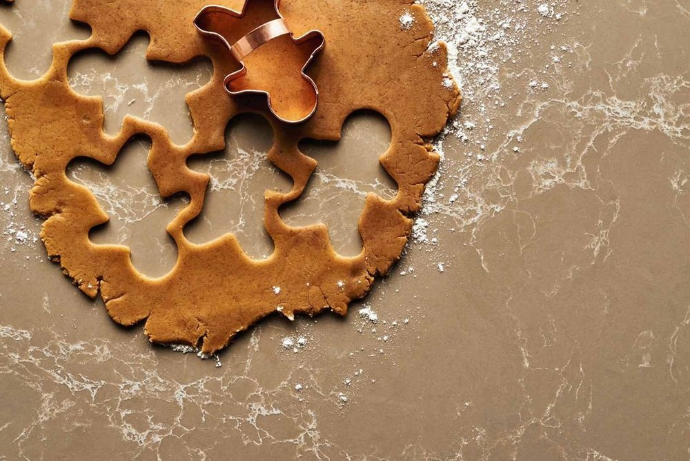 I'm sold on rolling out my holiday cookie dough directly on a bacteria-proof countertop!