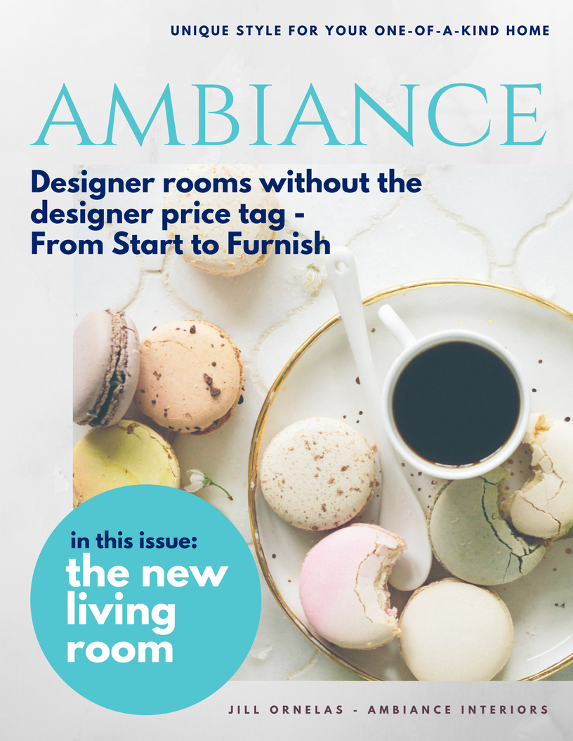 You can have a designer home! - Click the magazine cover and your designer room guide will begin to download immediately.Enjoy!- Jill