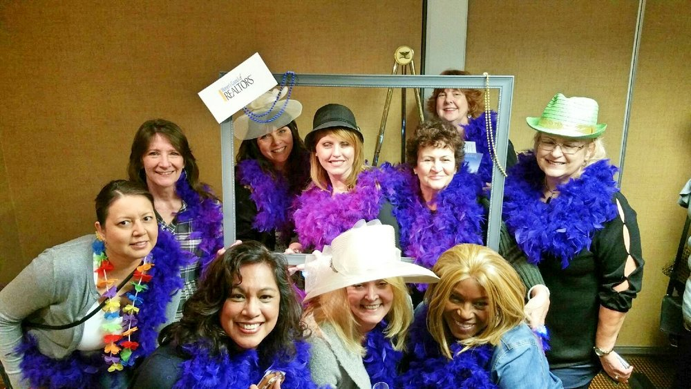 With my tribe at the Women's of Council REALTORS® - California State 2018 Winter Meeting & Installation