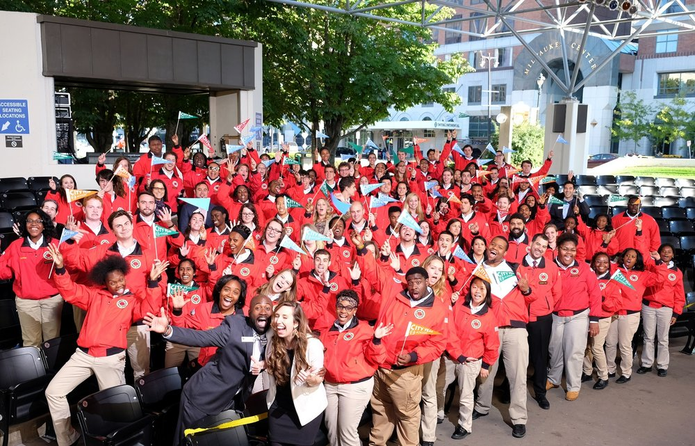 City Year Milwaukee staff and AmeriCoprs members strive to support our AmeriCorps members to have the best service experience.