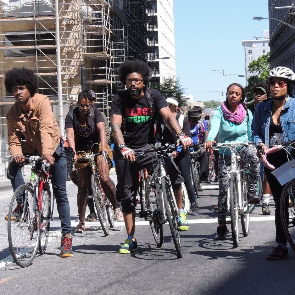 Bike Ride: Red Bike & Green