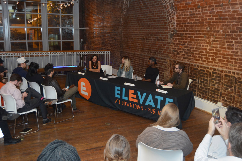 Talk Back with 2016 ELEVATE Curators