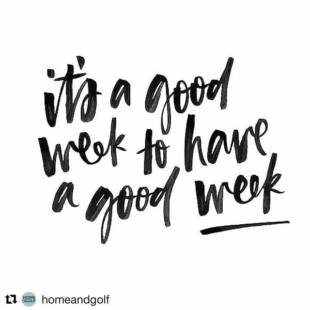 We think so!  #Repost @homeandgolf with @get_repost ・・・ Don't you think 🤔 • #mondaymotivation #letsdothis #monday #goals #wegotthis