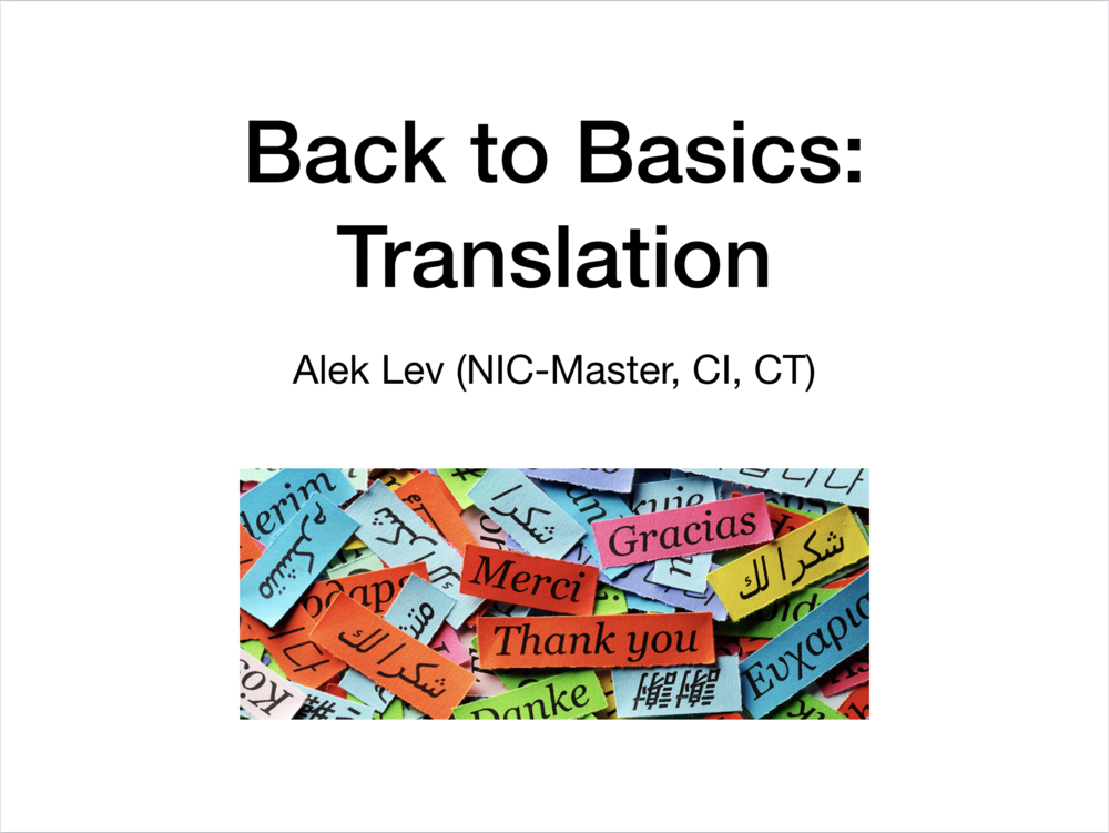 Translation - Slideshow