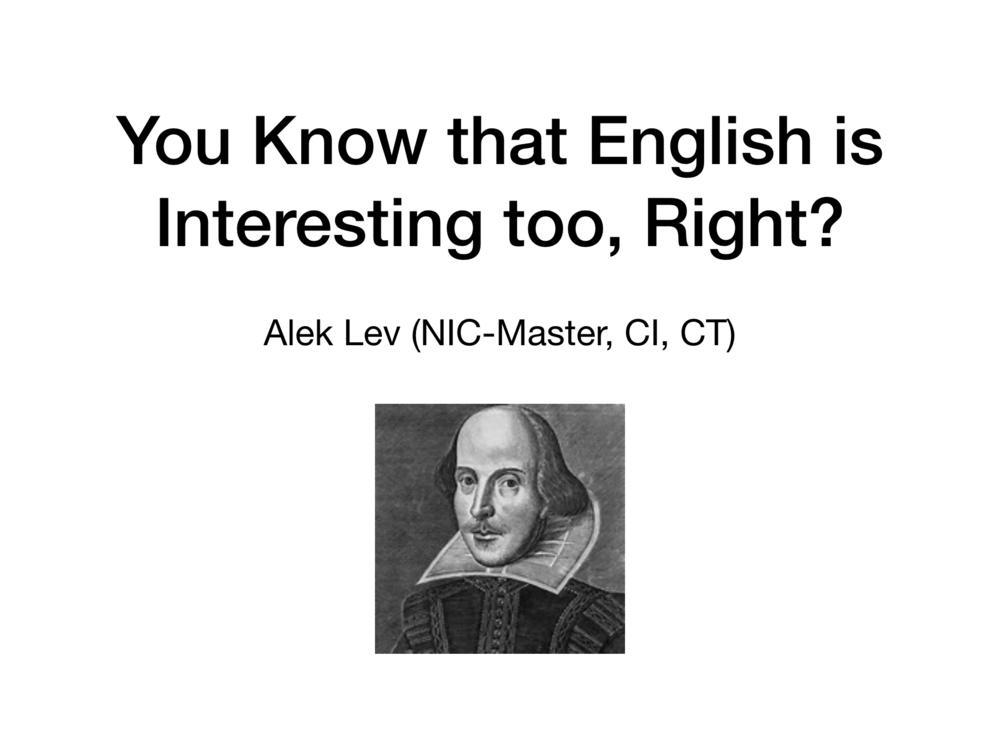English - Slideshow