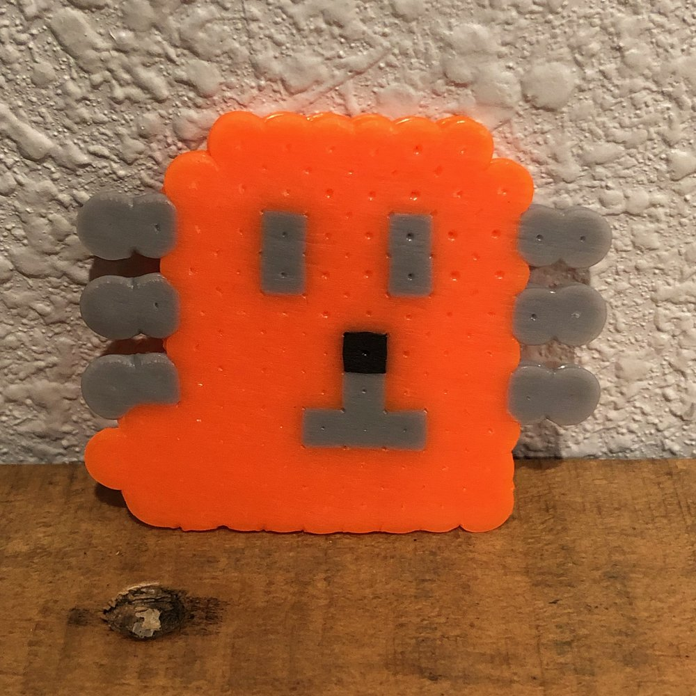 L'il Petey from Dog Man - Perler Beads