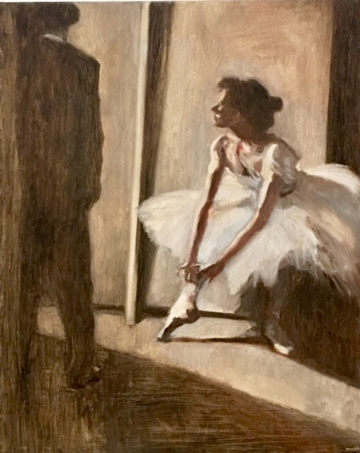 """After Degas - 16"""" X 20"""""""