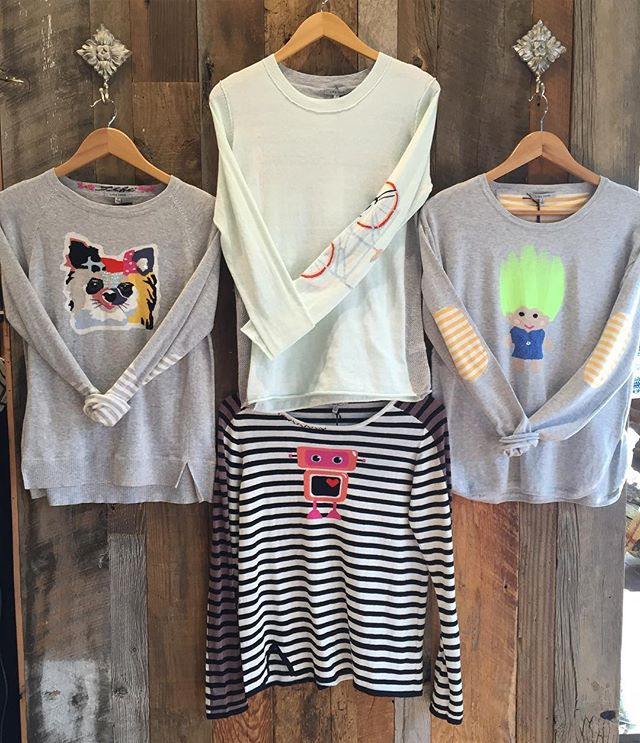 In store now, Lisa Todd sweaters! The Fifi, Crusin', Love Machine, and Gemma Troll! #bendoregon #inbend #centraloregon #lulusbend #lulusboutique #lisatodd #lisatoddsweater