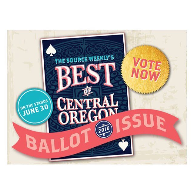 VOTE FOR US! LINK IN BIO! Do not forget to vote for us and all your other local favorites for The Source Weekly Best of Central Oregon Issue! You must vote for at least 25 businesses and the deadline is this Friday at 3PM!
